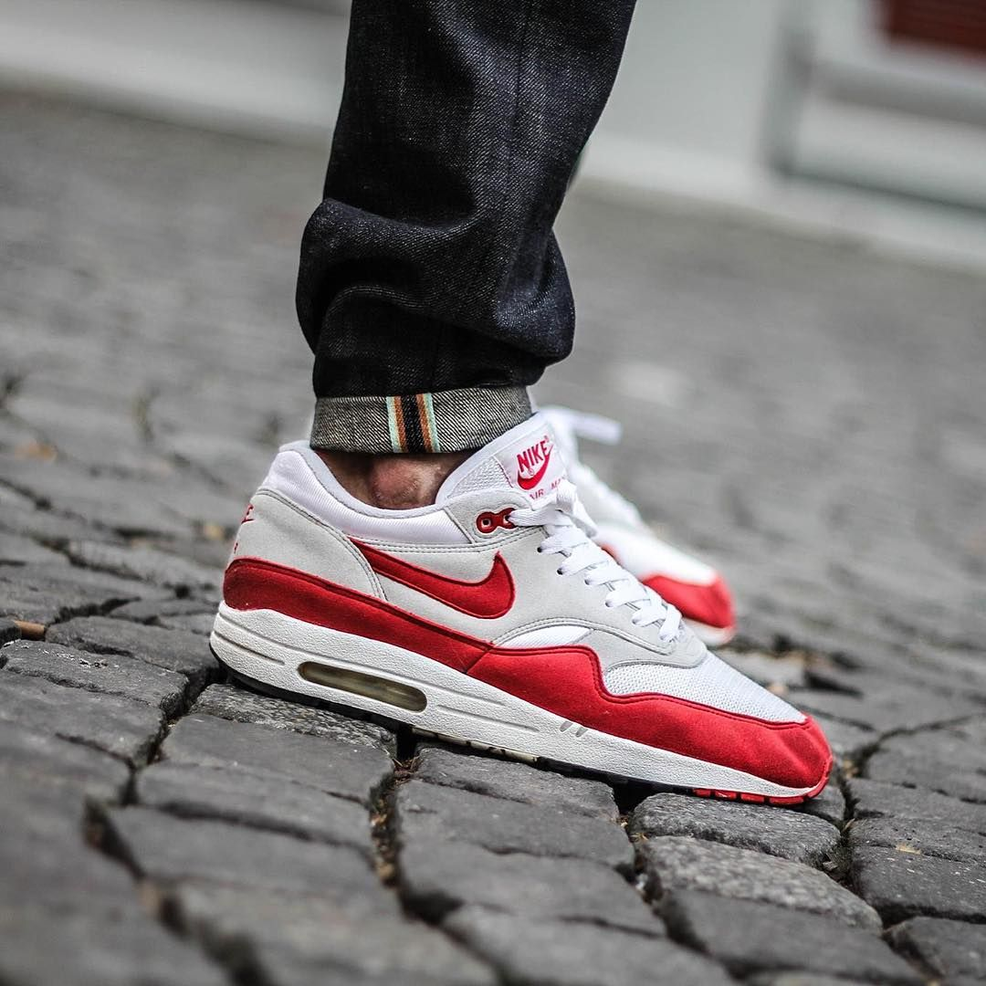 « Nike Air Max 1 #OGRed #HOA by @abetone  Use the hashtags #SADP and #SneakersAddict for a feature!  # #AM1 #AM87 #AirMax »