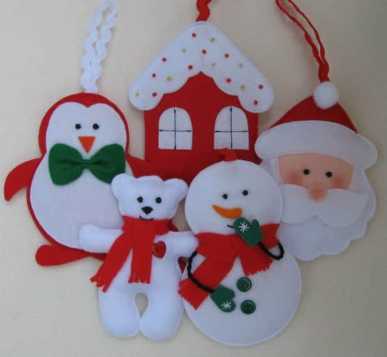 moldes para hacer adornos de navidad