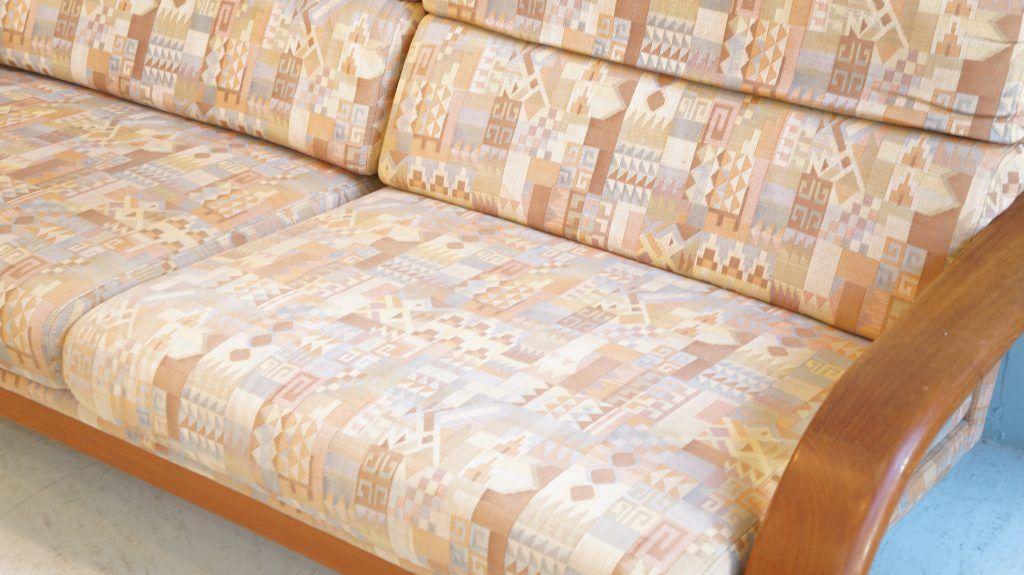 Komfort Teak Wood 2seater Sofa Made In Denmark デンマーク コンフォート 社製 2p ソファ チーク材 インテリア 家具 チーク材 ソファ