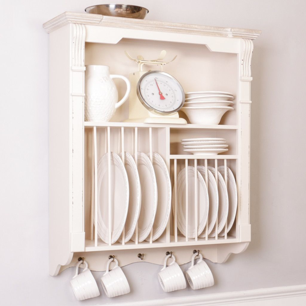 This high quality wooden French country style plate rack is reminiscent of antique French furniture finds  sc 1 st  Pinterest & This high quality wooden French country style plate rack is ...