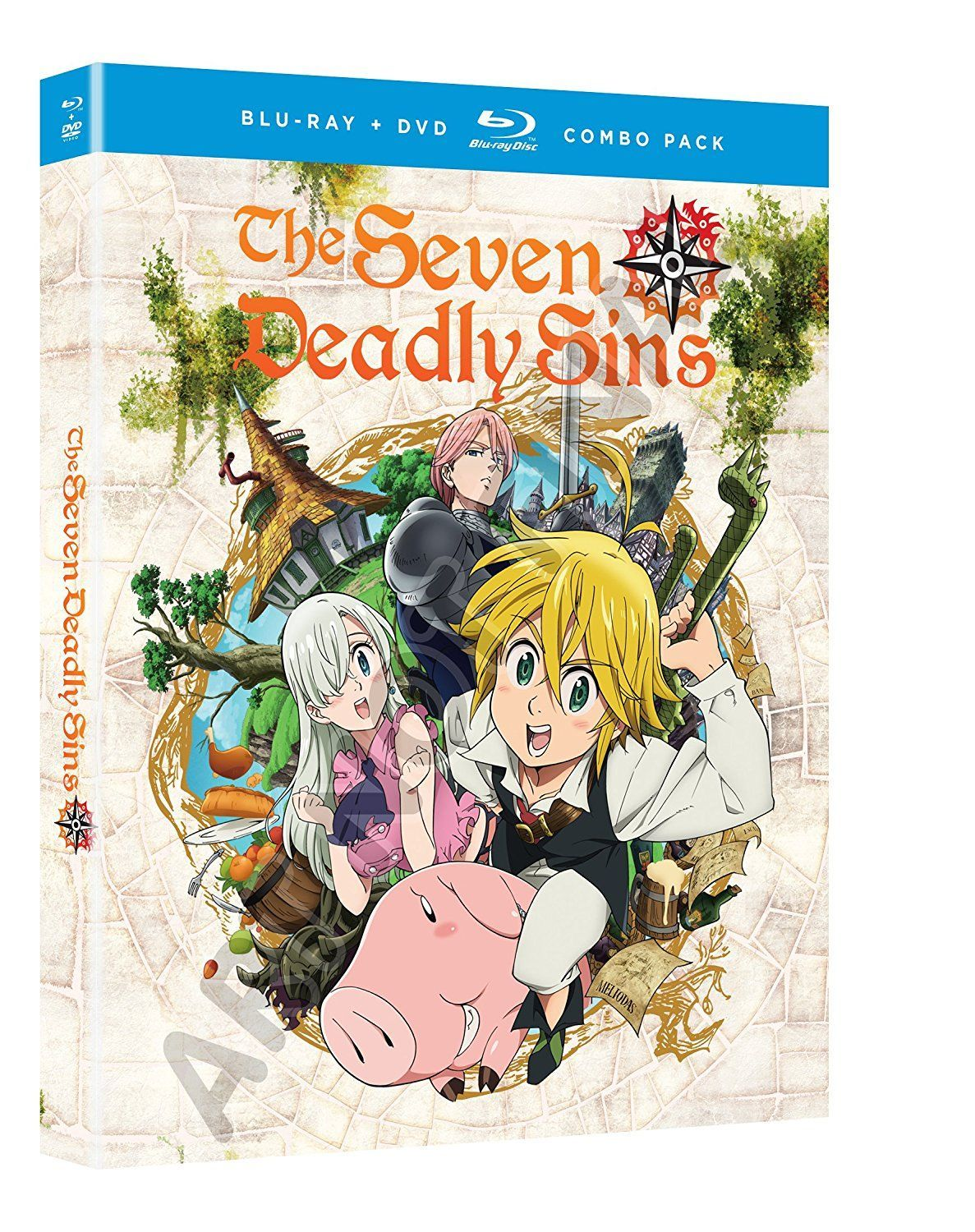Seven Deadly Sins Season One Part One One punch man