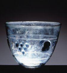 Bowl, glass, Cyprus, 1st century, Roman Imperial.