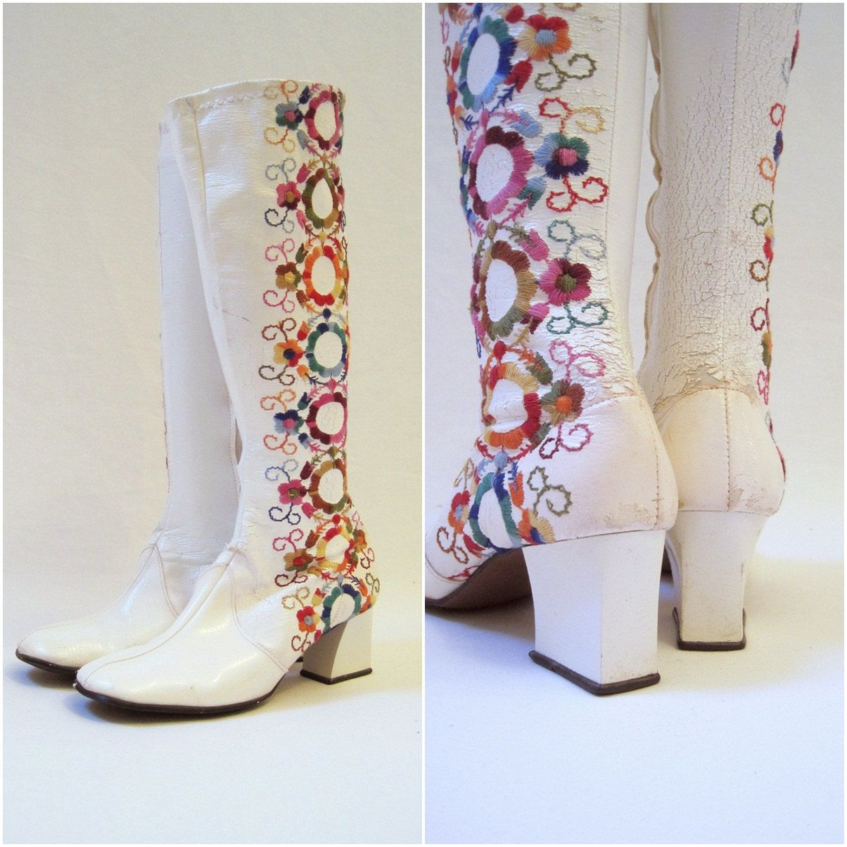 boots Vintage go go