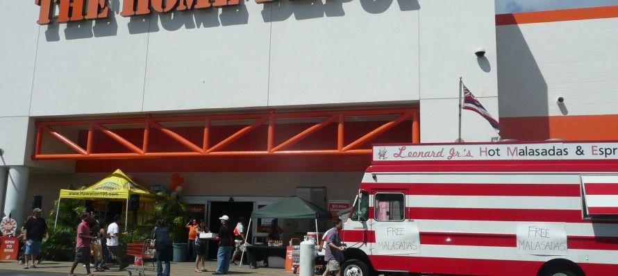 Leonard S Malasada Food Truck At Home Depot Kapolei Or The