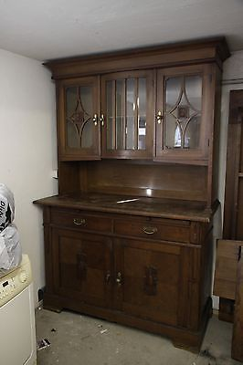 altes buffet küchenschrank anrichte shabby chic jugendstil antik • eur 350,00   küchen möbel