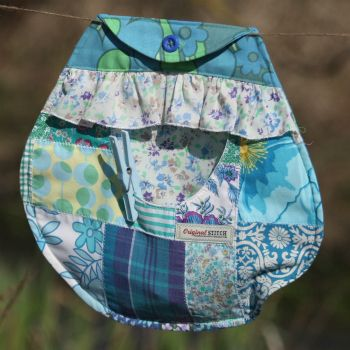 Now I know we made this, but honestly - did you ever see a prettier patchwork pegbag? Or are we biased?!
