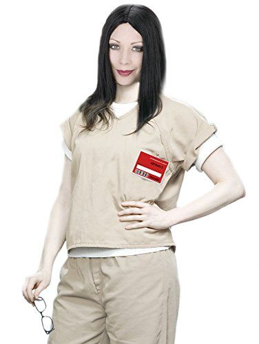40030ecc Prisoner Costume For Women Tan Prison Scrubs Orange Is the New Black Costume  Costume Adventure http