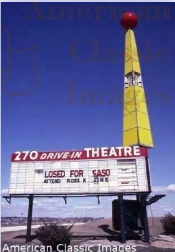270 Drive In I 270 West Florissant I Remember Going Here As A Kid In The Mid Late 1980 S The Land Was Redeveloped As A S Drive In Movie St Louis Missouri