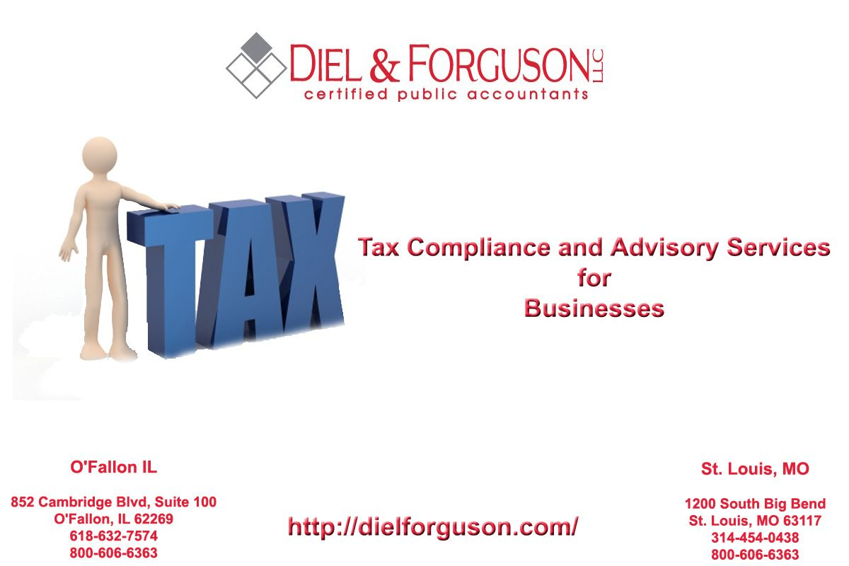 Tax Compliance and Advisory Services for Business - http://dielforguson.com/tax.php