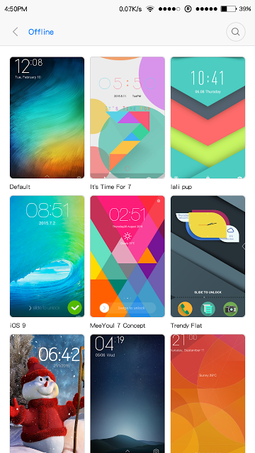 How to Change Themes in Xiaomi Redmi Devices. here is