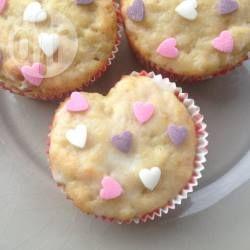 Valentinstag Muffins Als Herz, Herzmuffins, Muffins Als Herz Backen, Valentinstag  Backen, Romantisch