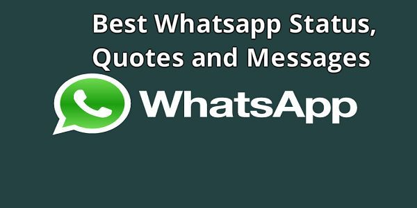 Latest 200 Best Whatsapp Status Quotes And Messages