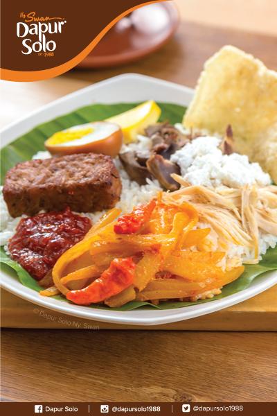 Nasi Liwet Solo Makanan Khas Solo Nasi Gurih Dengan