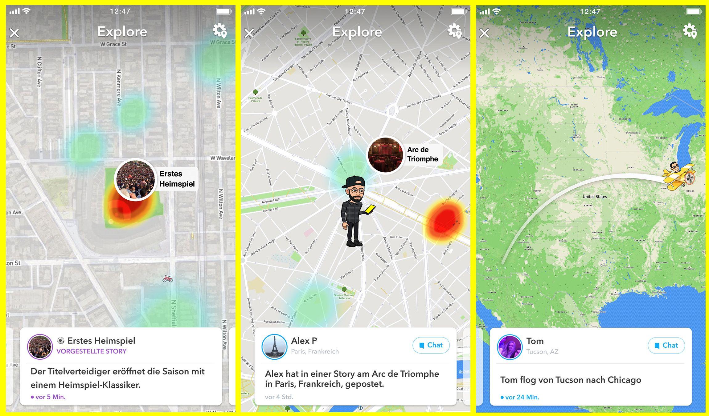 Millionen Menschen nutzen Snap Map jeden Tag um zu sehen was ihre Freunden gerade machen und um sich tolle Storys aus aller Welt anzuschauen