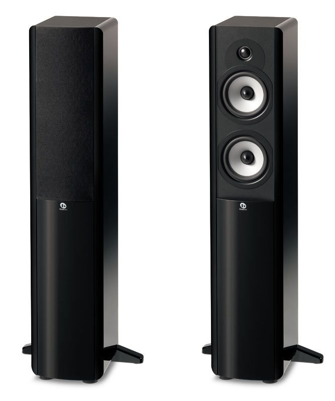 Boston Acoustics A 250 Two-Way Dual 5-1/4-Inch Floorstanding Speaker Product Shot