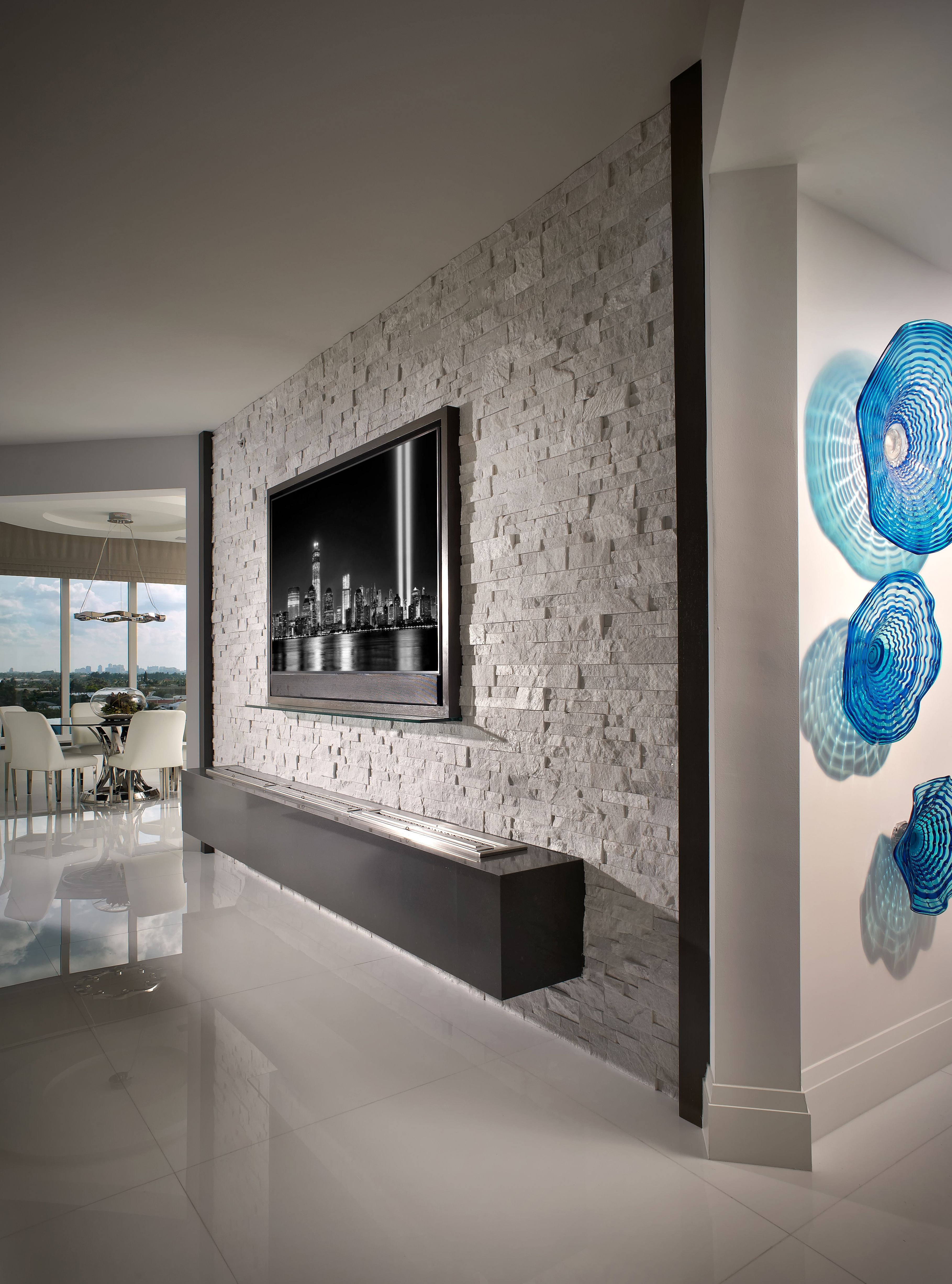 27 gorgeous double sided fireplace design ideas take a look