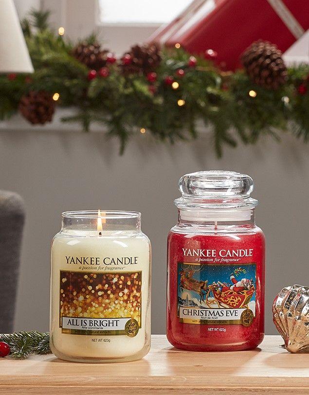 Weihnachtsdüfte All is Bright und Christmas Eve von Yankee Candle ...