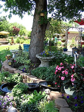 This Wonderful Shade Garden Was Very Calm And Peaceful Subdued And Serene Love Shade Gardens