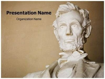 Download our professional-looking #PPT template on President - history powerpoint template