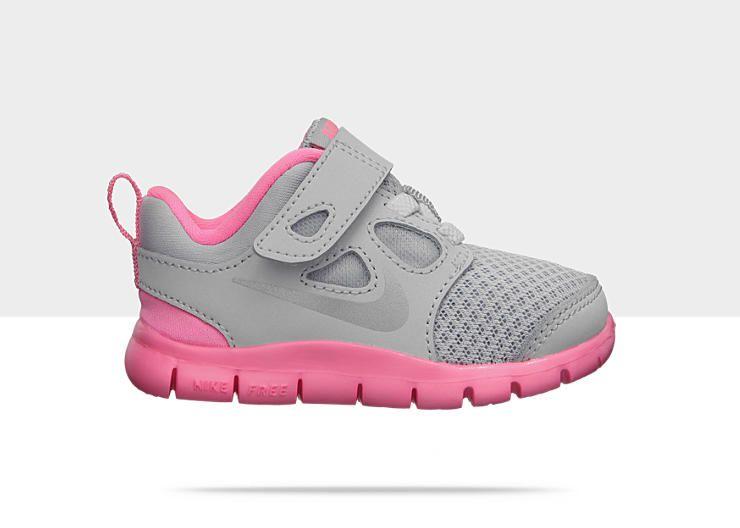 detailed look 23a48 7f29b Nike Free 5.0 (2c-10c) Infant/Toddler Girls' Running Shoe ...