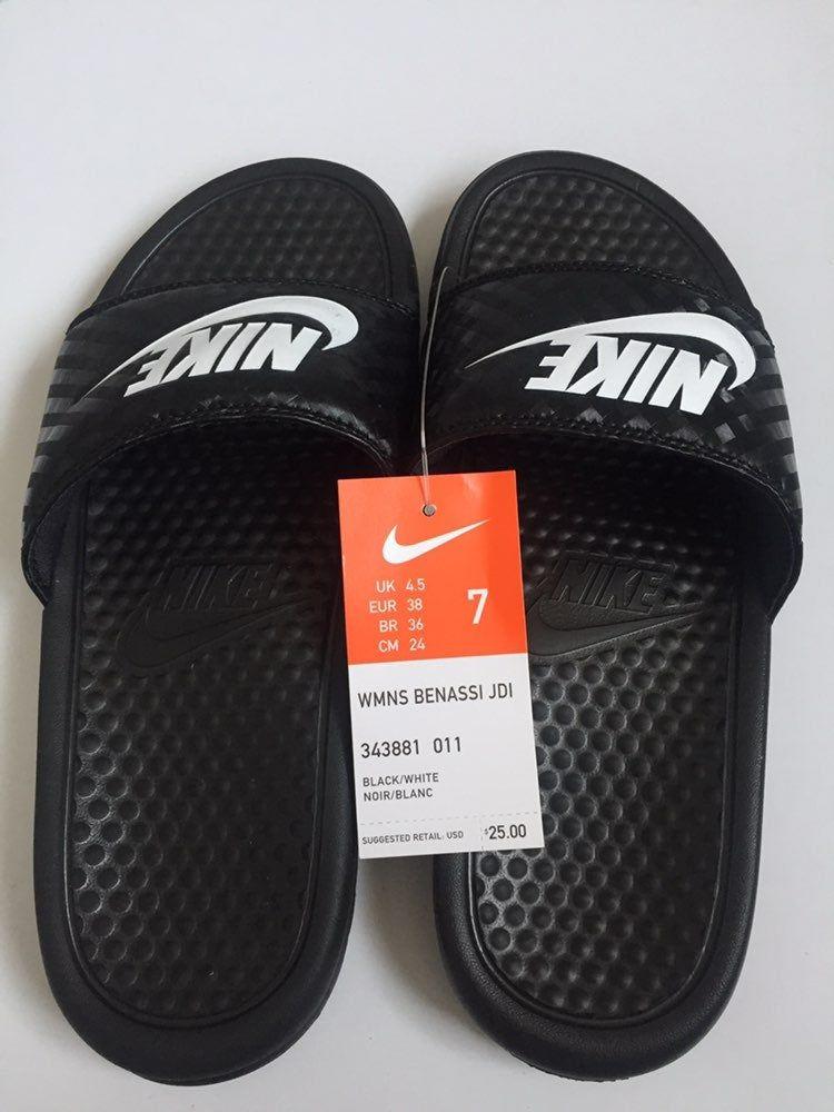 Nike WMNS Benassi JDI Slides//Sandals 343881-011 NIB