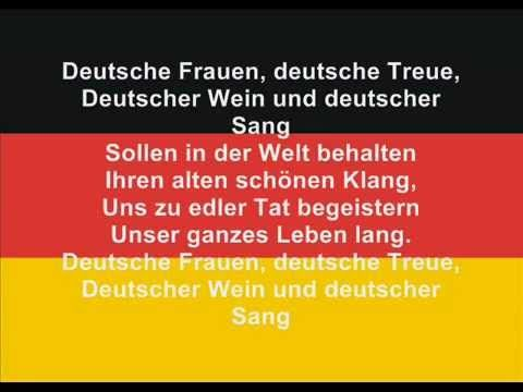 Inno Germania Sottotitoli Anthem Of Germany With Subtitles