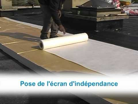 Efigreen Duo Isolation Thermique Des Toitures Terrasses Youtube Toiture Terrasse Isolation Thermique Isolation