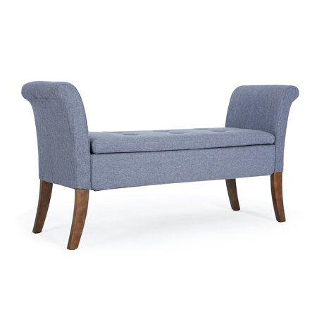 Amazing Belleze Modern Settee Storage Bench Button Tufted Bedroom Uwap Interior Chair Design Uwaporg