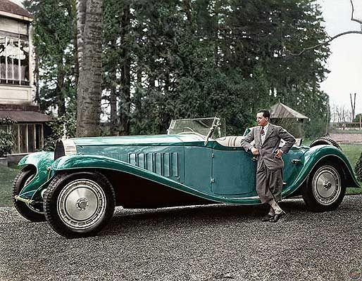 Rare Photos Of Fascinating People Through History Bugatti Royale Bugatti Bugatti Cars