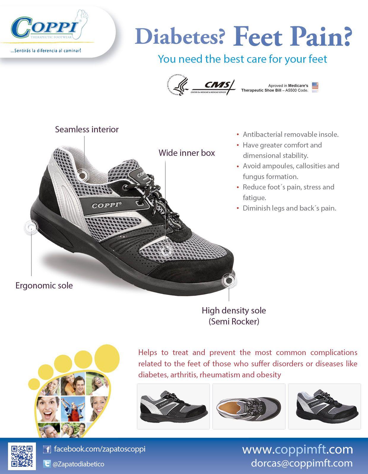 new concept 218ac 9abbb Zapatos para Diabéticos - Deportivos para hombre COPPI