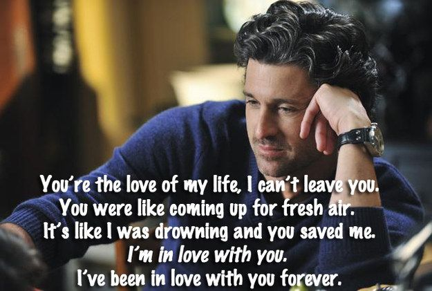 Top 10 Grey\'s Anatomy Love Quotes & Sayings
