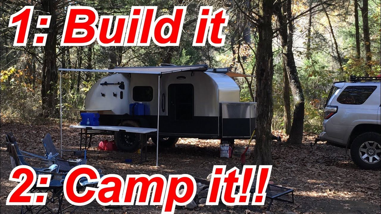DIY Offroad Teardrop Camper Tour camping included