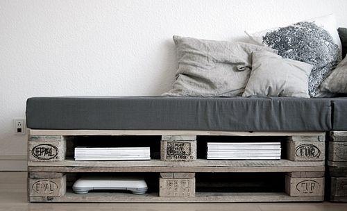 Pin by Vicky @ hOme on Pallets, pallets Pinterest Palette bed
