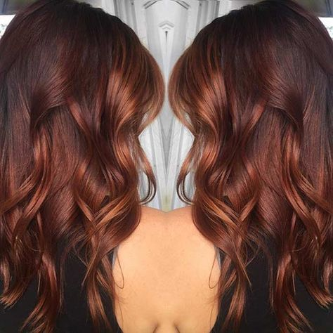 25 Copper Balayage Hair Ideas for Fall   StayGlam Gallery