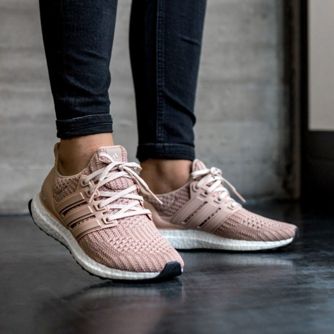 new product 75160 59e0c (PO) Adidas Womens Ultra Boost 4.0 Nude Beige, Women s Fashion, Shoes on  Carousell