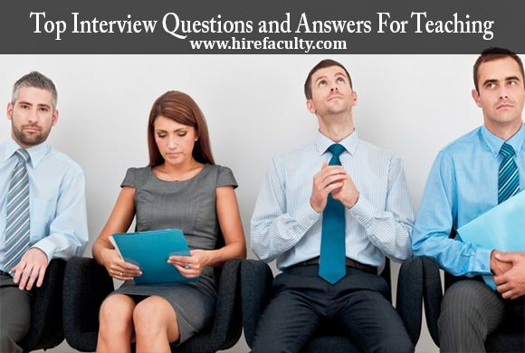Below, we are providing list of commonly asked #interviewquestions & #answers to getting the #Teaching Job of Your Dreams. How would you answer each question?  Please share your personal answers with us in the comment section below, we would love to hear your thoughts.