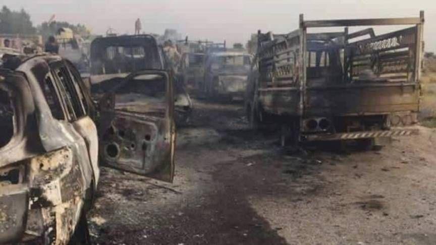 'Honderden strijders IS gedood bij bombardement coalitie'   NOS