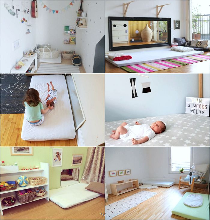 Six Montessori Newborn And Infant
