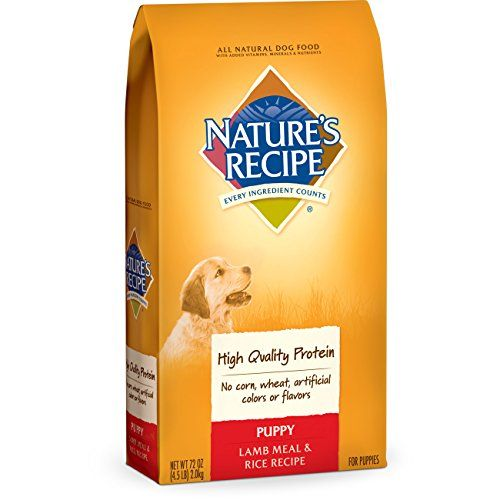 Nature S Recipe Puppy Lamb Meal Dogfood Dry Dog Food Sweet Potato Pumpkin Recipe Chicken Sweet Potato