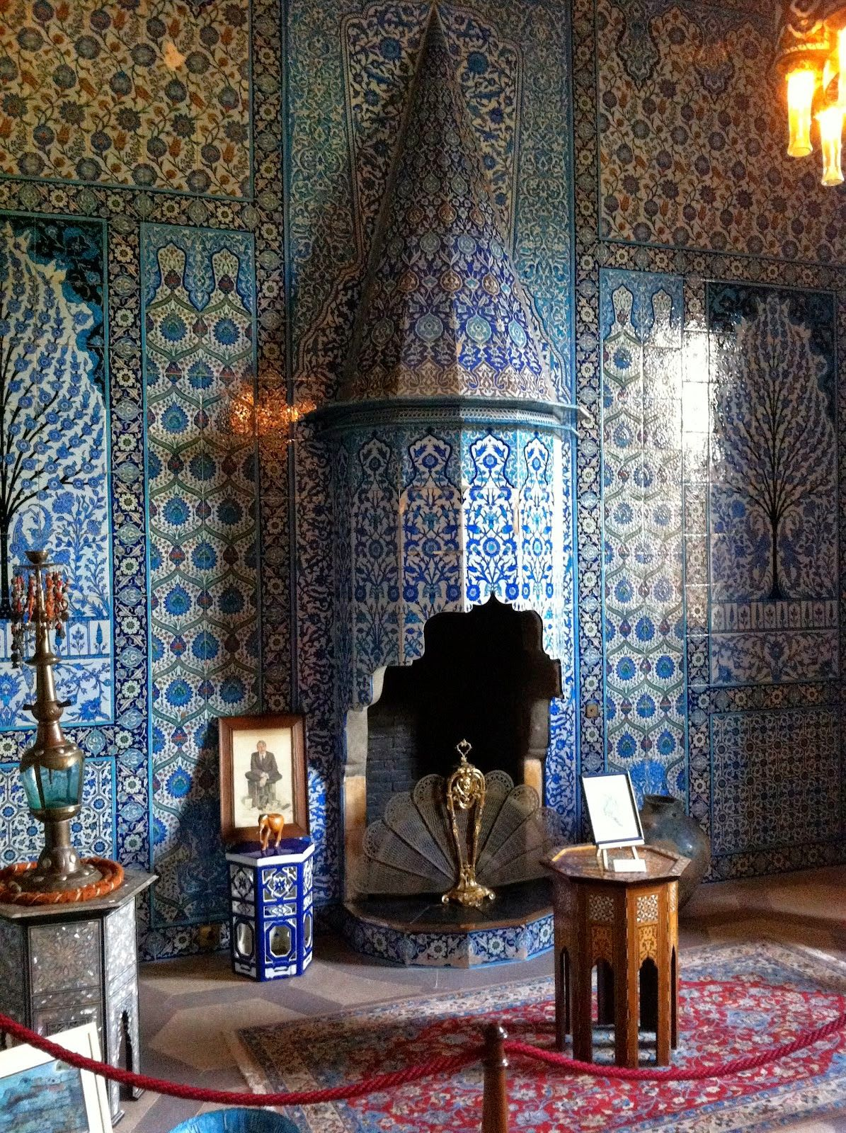 Economic Interior Design Ideas: Turkish Bathroom, Sledmere House.