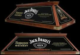 Jack Daniels Old Style Pool Table Lights