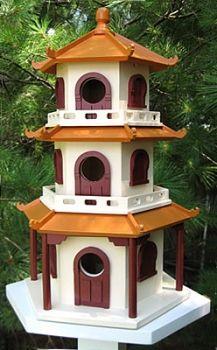 Asian Style Bird House Bird House Bird House Plans Decorative