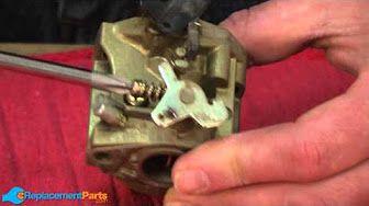 Honda Lawn Mower Repair How To Replace The Carburetor Float You