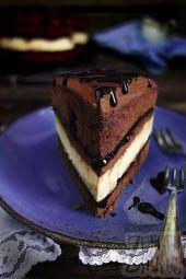 Photo of Cheesecake in a chocolate cake – chocolate cheese cake – tongue circus …