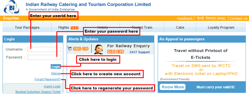 Irctc Registration Create An Account And Start Booking Tickets