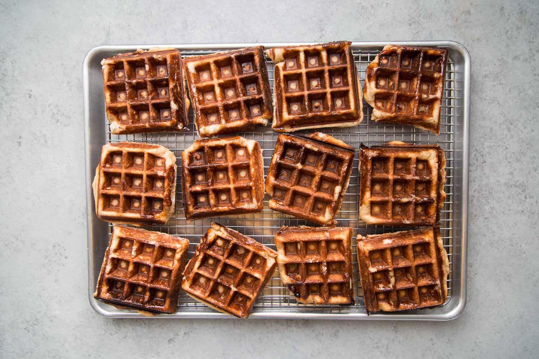 Belgian Liege Waffles The Little Epicurean Resep