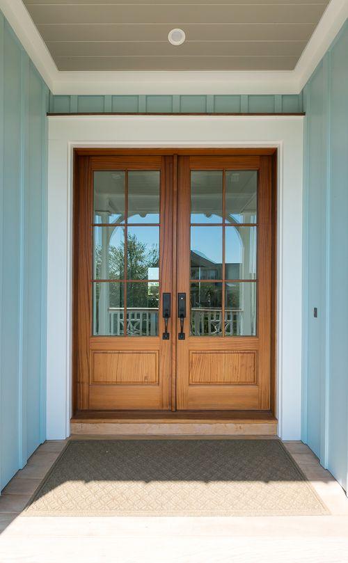 Side Entrance Double Front Doors Pella Doors Exterior