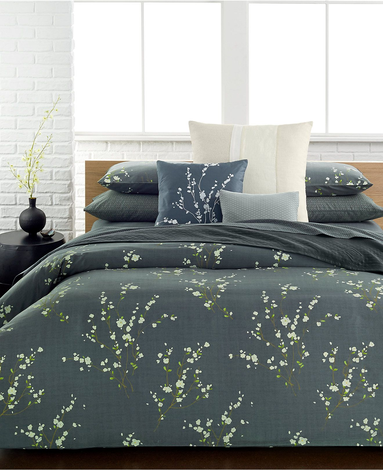 klein duvet grey cover bedding acacia king buy amara products bed calvin