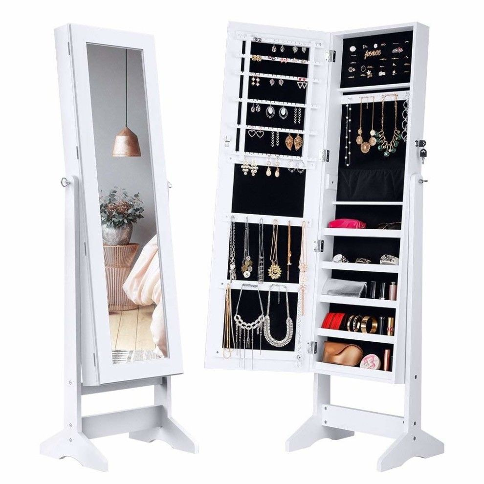 30+ Mirror jewelry armoire near me viral
