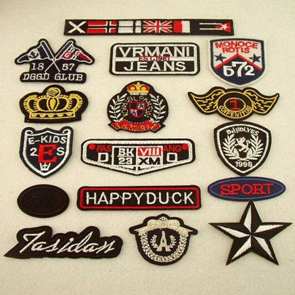 Cloth Badges, Embroidery, Sewing